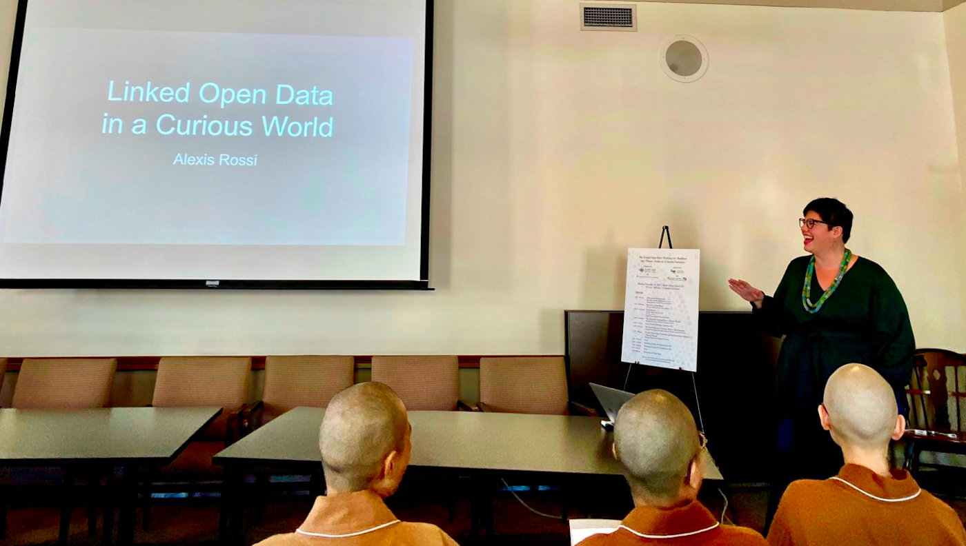 Linked Data Presentation by Alexis Rossi (Internet Archive)