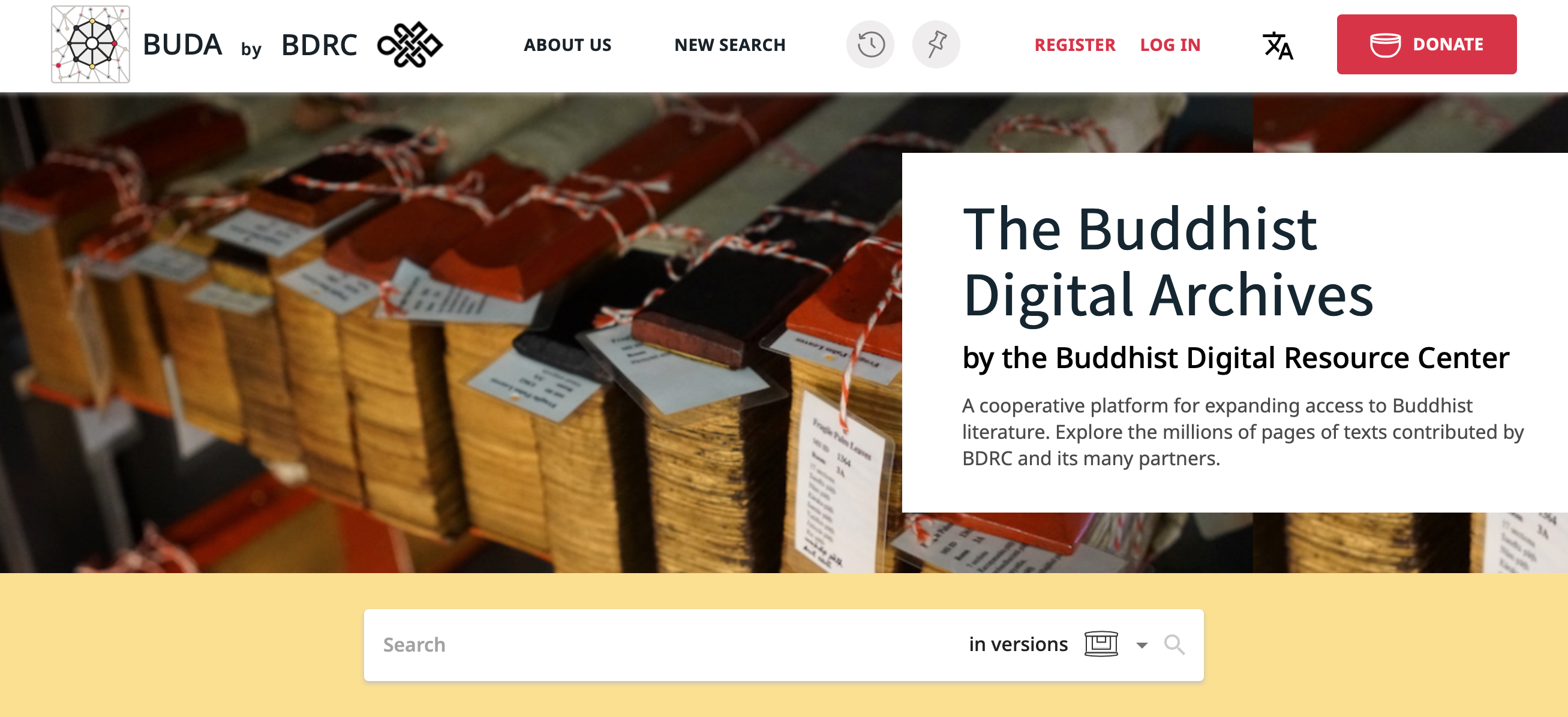 BUDA: Buddhist Digital Archives